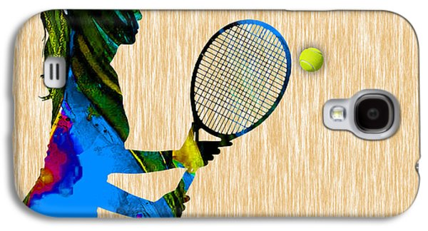 Tennis Galaxy S4 Case by Marvin Blaine