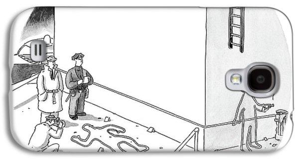 New Yorker December 20th, 2004 Galaxy S4 Case by Glen Le Lievre