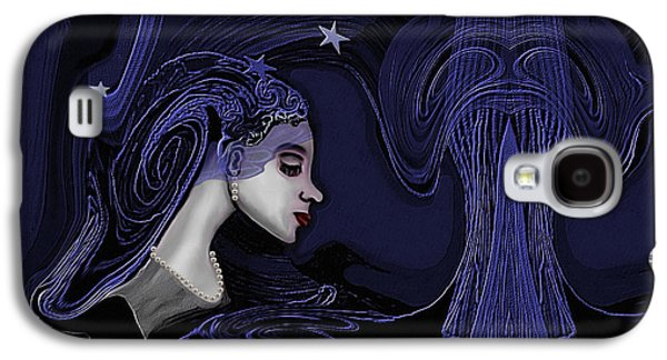 128 - Melancholia ... Galaxy S4 Case by Irmgard Schoendorf Welch