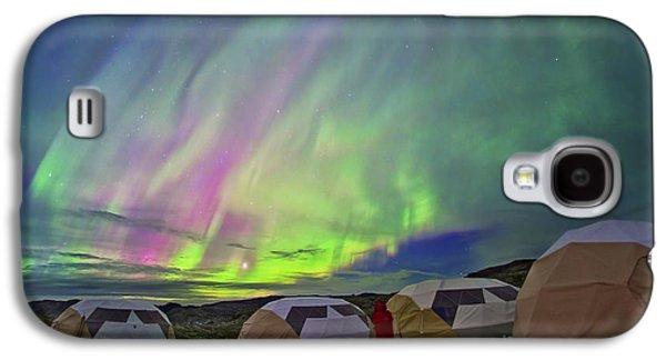 Auroral Display Galaxy S4 Case by Juan Carlos Casado (starryearth.com)