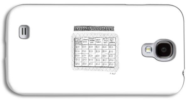 Insomnia Jeopardy Galaxy S4 Case