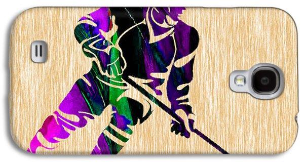 Hockey Galaxy S4 Case by Marvin Blaine
