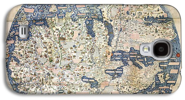 World Map By Fra Mauro - 1458 Galaxy S4 Case