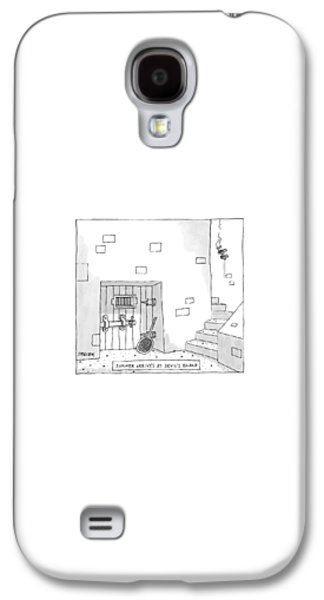 Dungeon Galaxy S4 Case - Captionless by Jack Ziegler