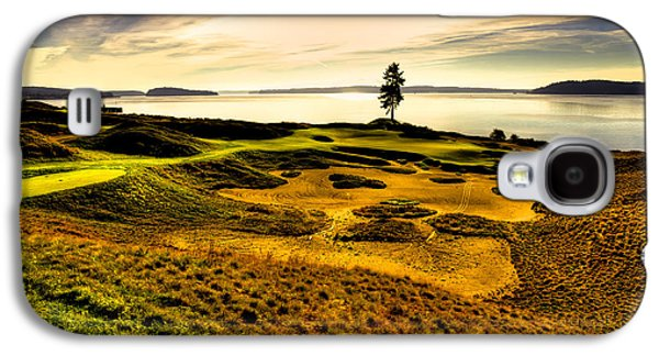 #15 At Chambers Bay Golf Course  Galaxy S4 Case by David Patterson