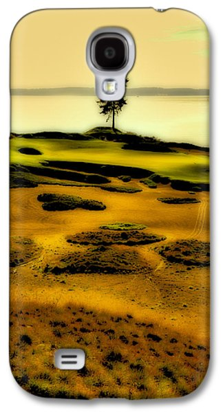 #15 At Chambers Bay - Location Of The 2015 Us Open Galaxy S4 Case by David Patterson