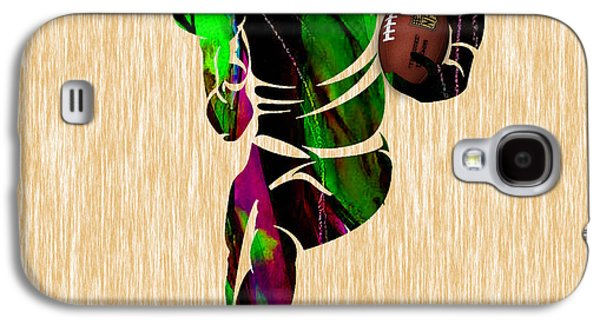 Football Galaxy S4 Case by Marvin Blaine