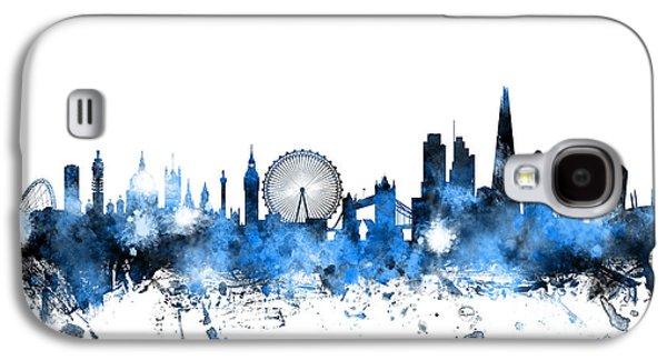 Skyline Galaxy S4 Case - London England Skyline by Michael Tompsett