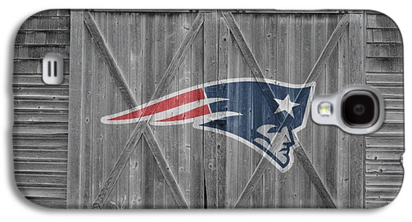 New England Patriots Galaxy S4 Case by Joe Hamilton