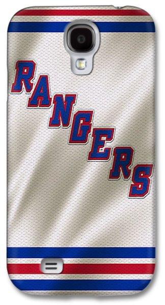 New York Rangers Galaxy S4 Case by Joe Hamilton