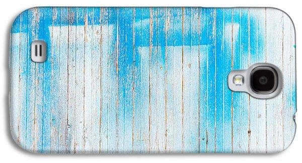 Wood Background Galaxy S4 Case