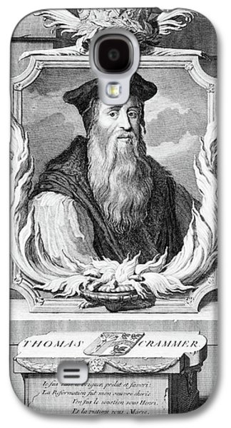 Catherine White Galaxy S4 Case - 1500s Thomas Cranmer Archbishop by Vintage Images
