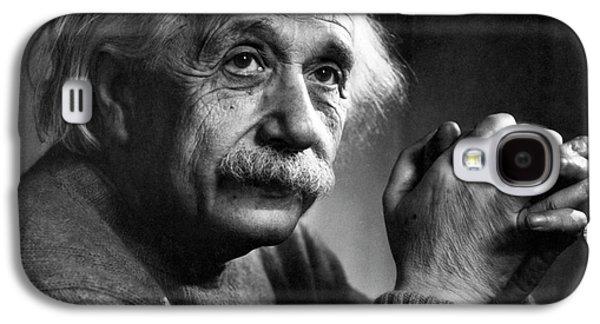 Albert Einstein Galaxy S4 Case by Emilio Segre Visual Archives/american Institute Of Physics