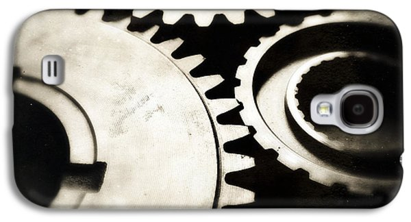 Cogs Galaxy S4 Case by Les Cunliffe