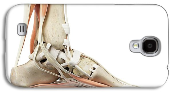 Human Foot Anatomy Galaxy S4 Case by Sciepro