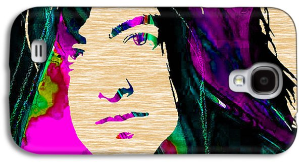 Jimmy Page Collection Galaxy S4 Case by Marvin Blaine