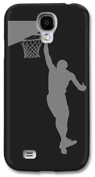 Nba Shadow Player Galaxy S4 Case by Joe Hamilton