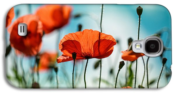 Poppy Meadow Galaxy S4 Case