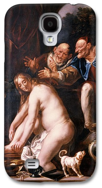 1600s Susanna And The Two Old Ones Galaxy S4 Case