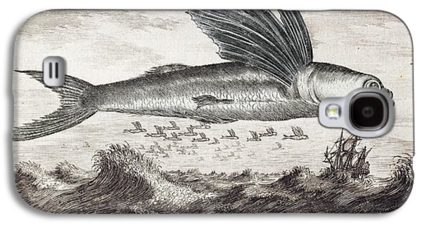 1693 Flying Fish Johan Nieuhof Galaxy S4 Case by Paul D Stewart