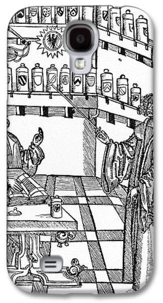 16th Century German Pharmacy School Galaxy S4 Case by Cci Archives