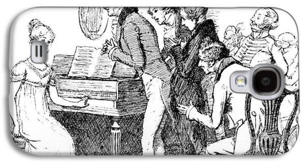 Scene From Pride And Prejudice By Jane Austen Galaxy S4 Case