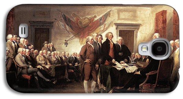 1776 Signing Declaration Galaxy S4 Case
