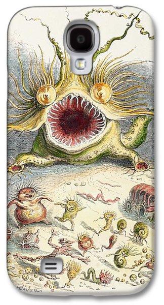 1833 Cholera Pandemic Grandville Cartoon Galaxy S4 Case