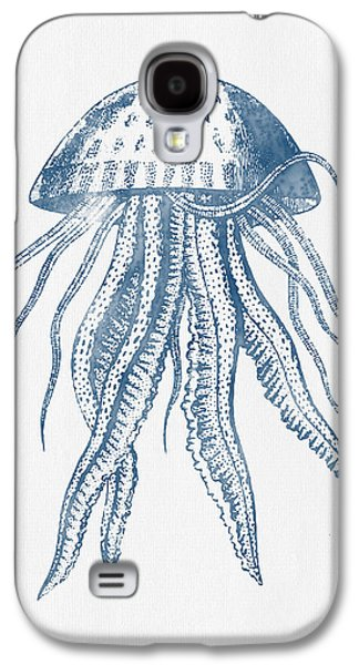 1844 Octopus Ink Drawing Galaxy S4 Case by Aged Pixel