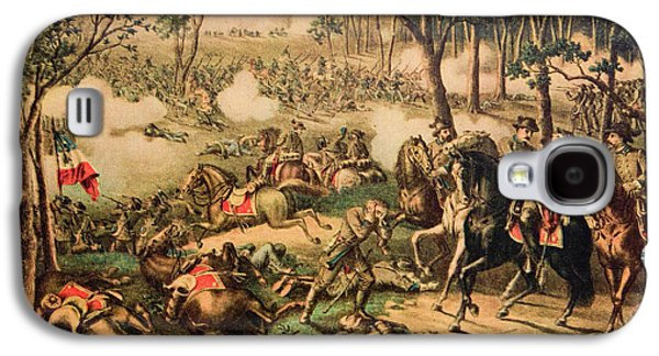 1863 Battle Of Chancellorsville By Kurz Galaxy S4 Case