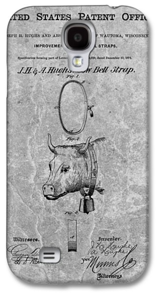 1871 Cow Bell Patent Galaxy S4 Case