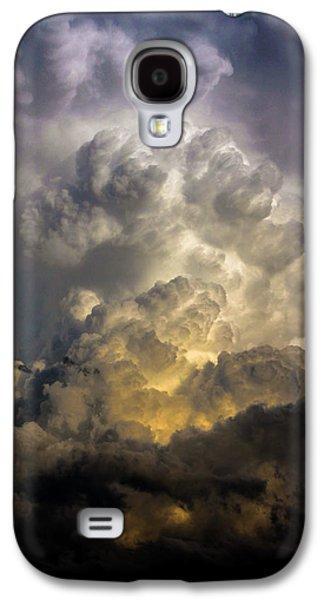 Nebraskasc Galaxy S4 Case - Late Afternoon Nebraska Thunderstorms by NebraskaSC
