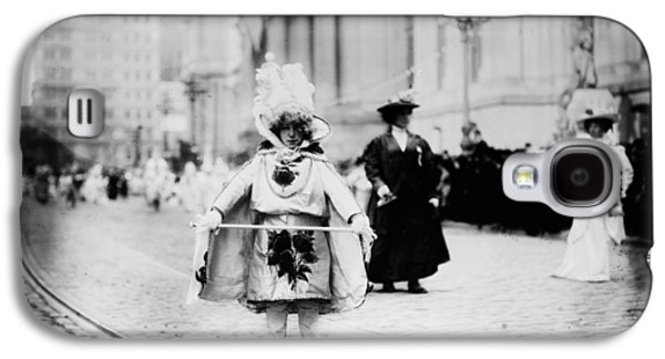 1909 Mummers Parade Galaxy S4 Case by Bill Cannon