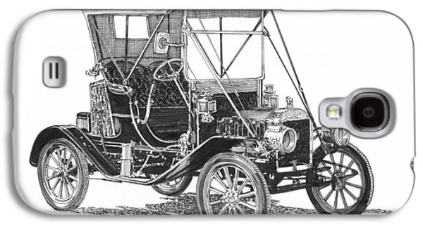 1911 Ford Model T Tin Lizzie Galaxy S4 Case