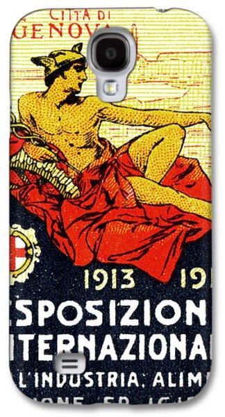 1913 Genoa Italy Industrial Exposition Galaxy S4 Case