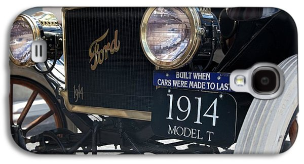 1914 Ford Model T Galaxy S4 Case by Jim West