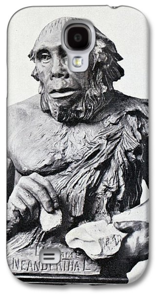1916 First 3d Neanderthal Reconstruction Galaxy S4 Case by Paul D Stewart