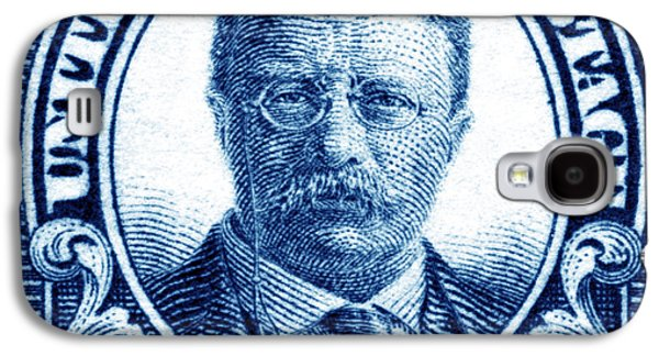 1922 Theodore Roosevelt Stamp Galaxy S4 Case by Historic Image