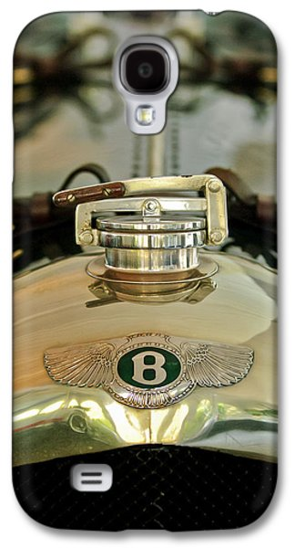 1925 Bentley 3-liter 100mph Supersports Brooklands Two-seater Radiator Cap Galaxy S4 Case by Jill Reger