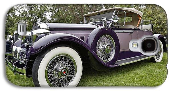 1929 Packard Series 640 Super 8 Runabout Galaxy S4 Case by Robert Jensen