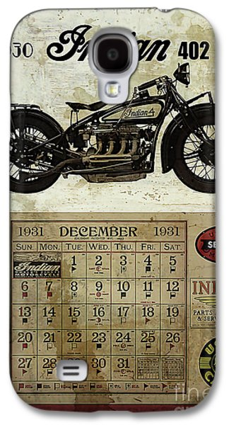 1930 Indian 402 Galaxy S4 Case by Cinema Photography