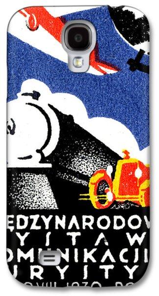 1930 Poznan Poland Expo Poster Galaxy S4 Case