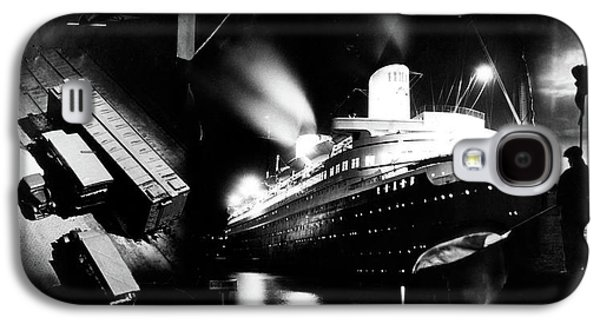1930s Montage Of Transportation Images Galaxy S4 Case