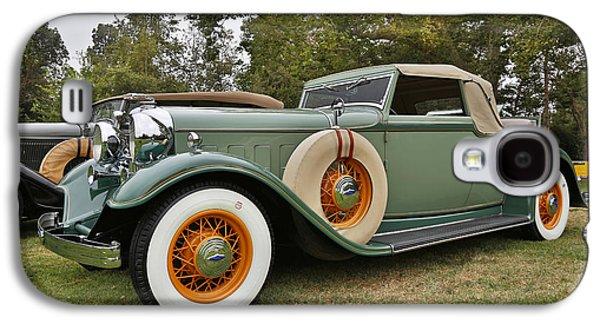 1932 Lincoln Kb Roadster Galaxy S4 Case by Robert Jensen