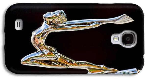1934 Buick Goddess Hood Ornament Galaxy S4 Case by Jill Reger