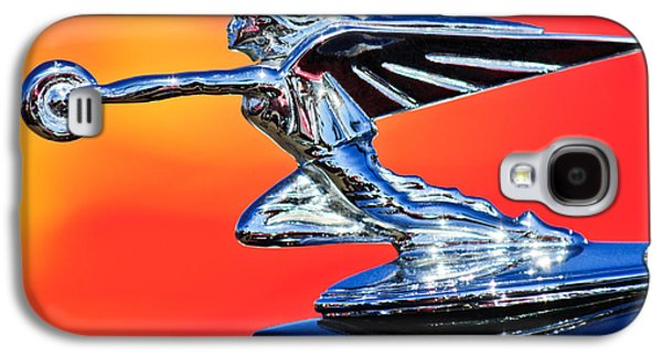 1935 Packard Hood Ornament -0295c Galaxy S4 Case by Jill Reger