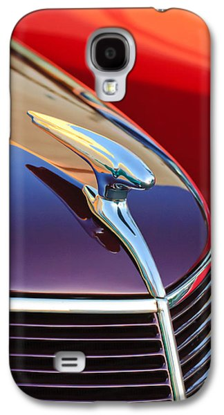 1937 Ford Hood Ornament 2 Galaxy S4 Case by Jill Reger