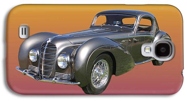 1938 Delahaye Type 145 V 12 Coupe Galaxy S4 Case by Jack Pumphrey
