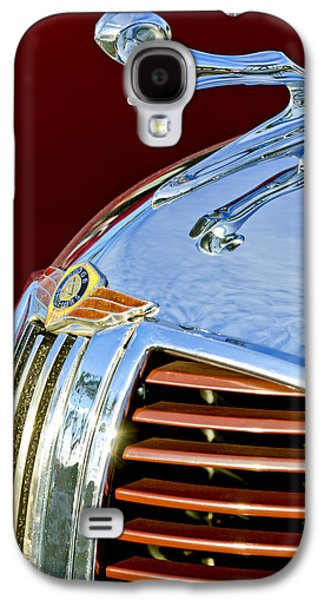 1938 Dodge Ram Hood Ornament 3 Galaxy S4 Case by Jill Reger