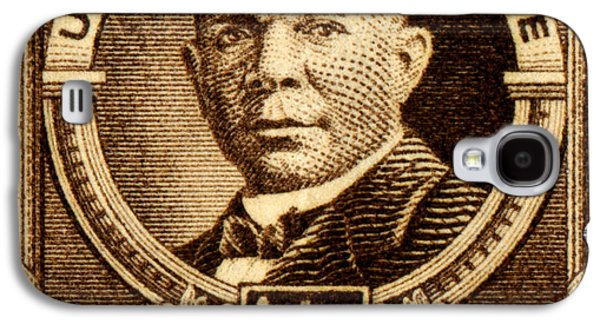 1940 Booker T. Washington Stamp Galaxy S4 Case by Historic Image